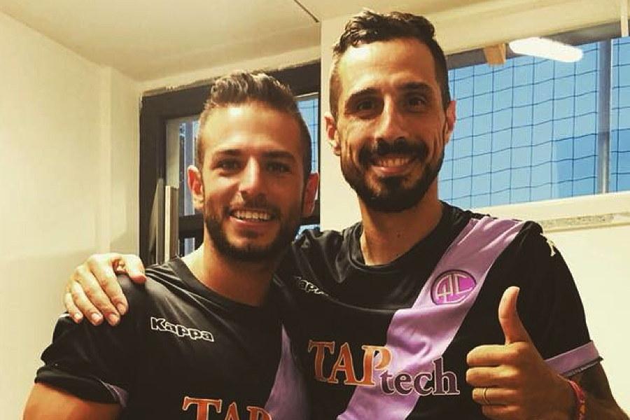 Promozione A, Luca Arrigoni con Valerio Foglio
