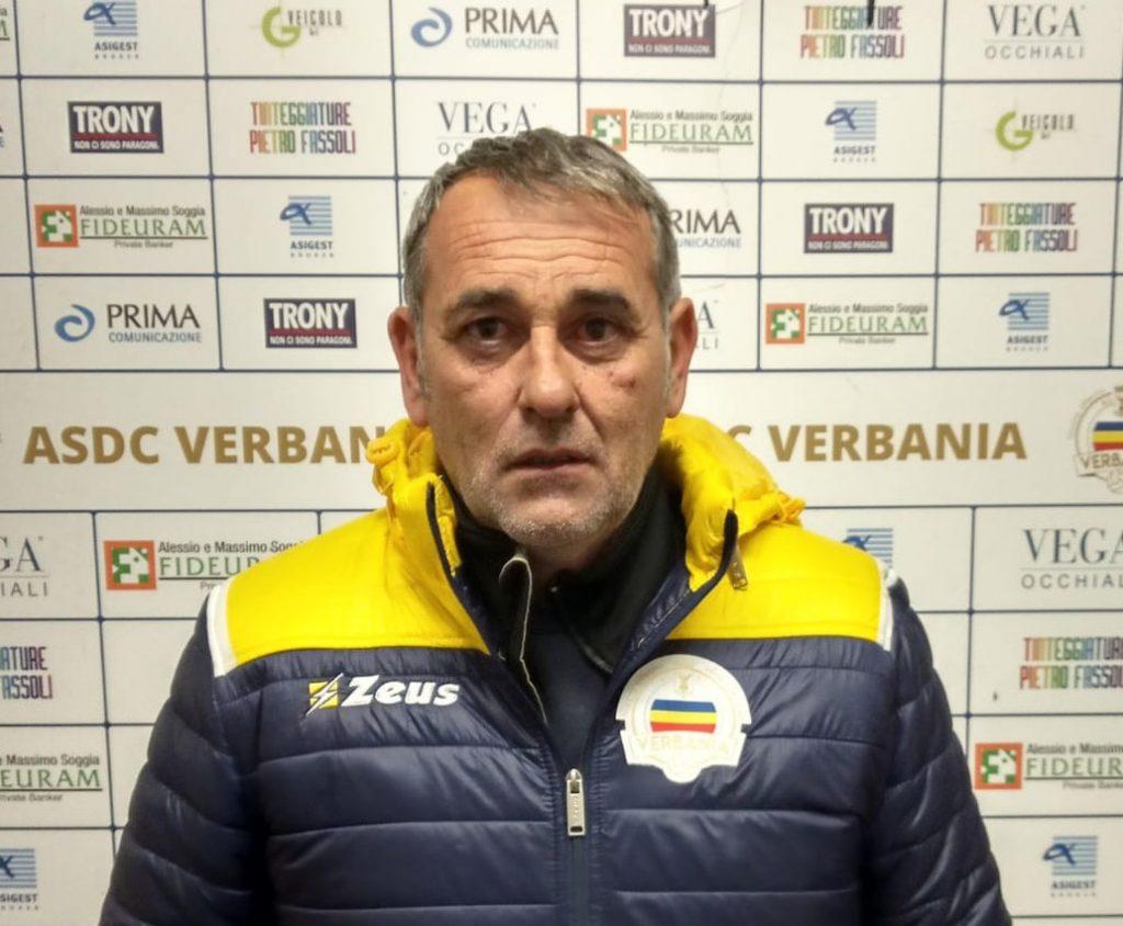 Serie D   E' già finita l'avventura di Corrado Cotta al Verbania: dimissioni