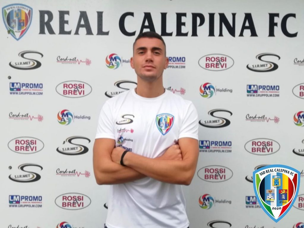 Real Calepina, rescisso il contratto con Samuele Careccia