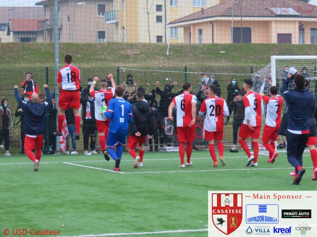 Serie D, girone B: la Casatese tenta la fuga